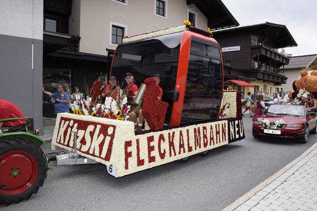 Fleckalmbahn in Blüten.