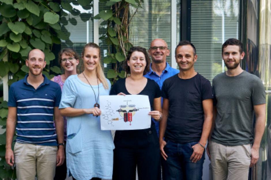 Teil des Innsbrucker Projektteams (von links): Florian Enzler, Andrea Raffeiner, die beiden Erstautorinnen Johanna Mayrhofer und Ruth Röck, Jakob Troppmair, Eduard Stefan und Andreas Feichtner.