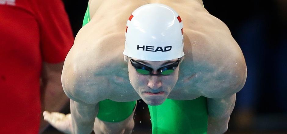 Die Tiroler Schwimm-Hoffnung Alexander Knabl ist am Sprung zurück nach Innsbruck.