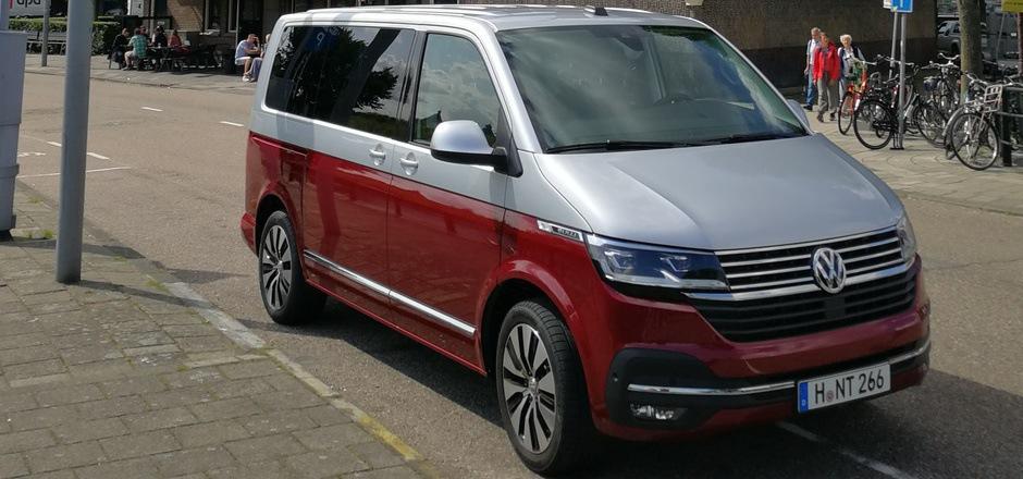 Für viele Sportler und Familien das nahezu perfekte Transportmittel: der T6.1, hier als Multivan.