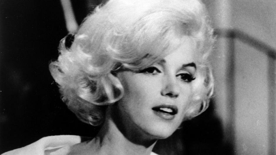 Der verstorbene Hollywoodstar Marilyn Monroe.