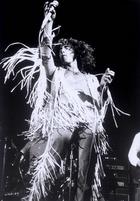"""Ein Kameramann rückte Roger Daltrey beim Auftritt der britischen Band """"The Who"""" auf die Pelle."""