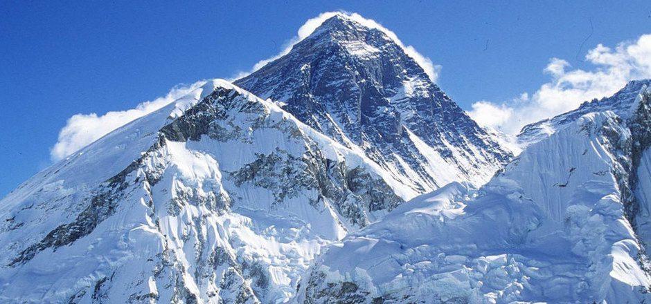 Der Mount Everest ist der höchste Berg der Welt.