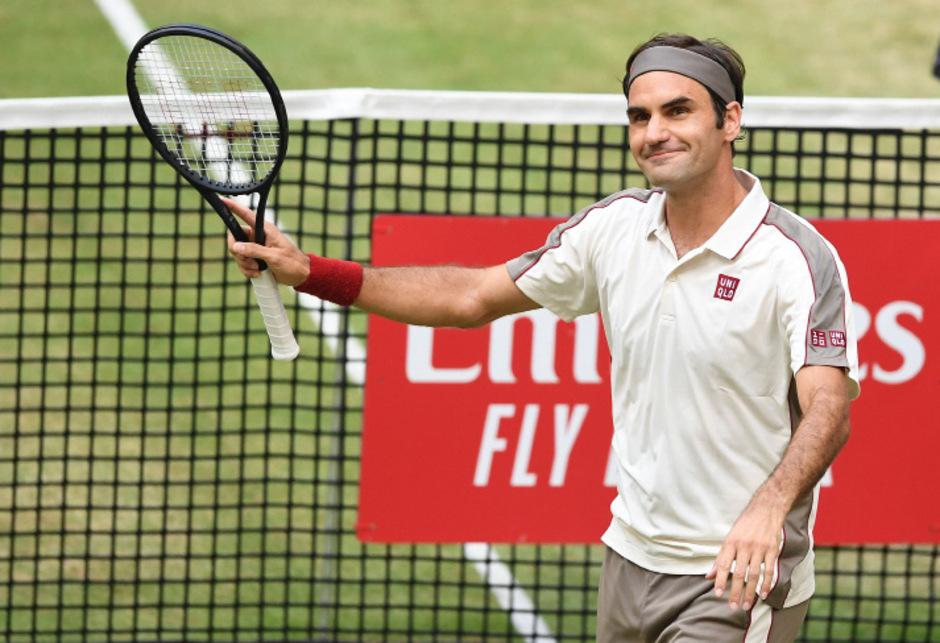 Roger Federer ist im Achtelfinale ausgeschieden. (Archivbild)