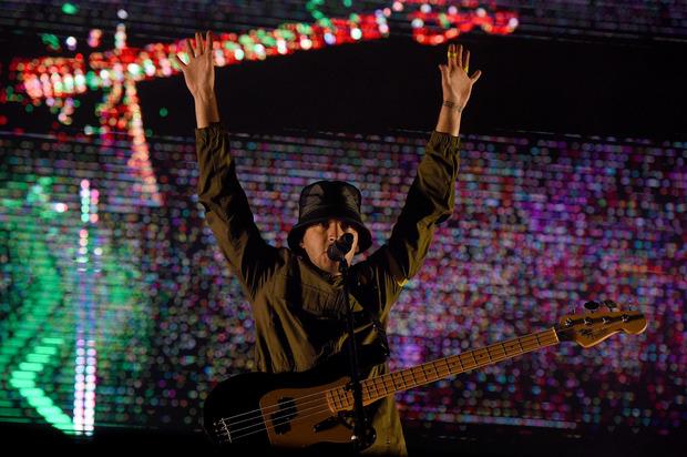 Der eigentliche Headliner des ersten Festivaltages: Die Twenty One Pilots. Im Bild: Sänger Tyler Robert Joseph.