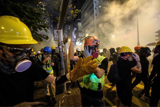 Seit Wochen kommte es immer wieder zu heftigen Auseinandersetzungen zwischen den Demonstranten und der Polizei.