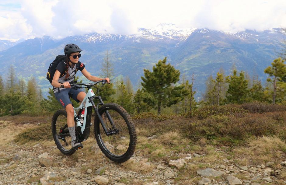E-Biker erobern die Berge.