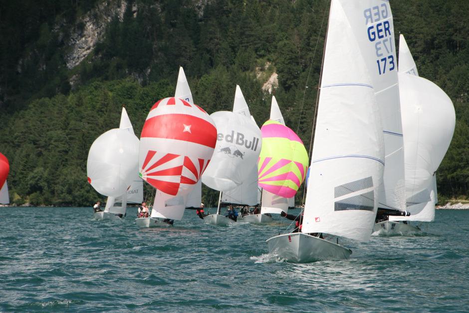 Rund 80 Boote nehmen an den Regatta-Bewerben teil.
