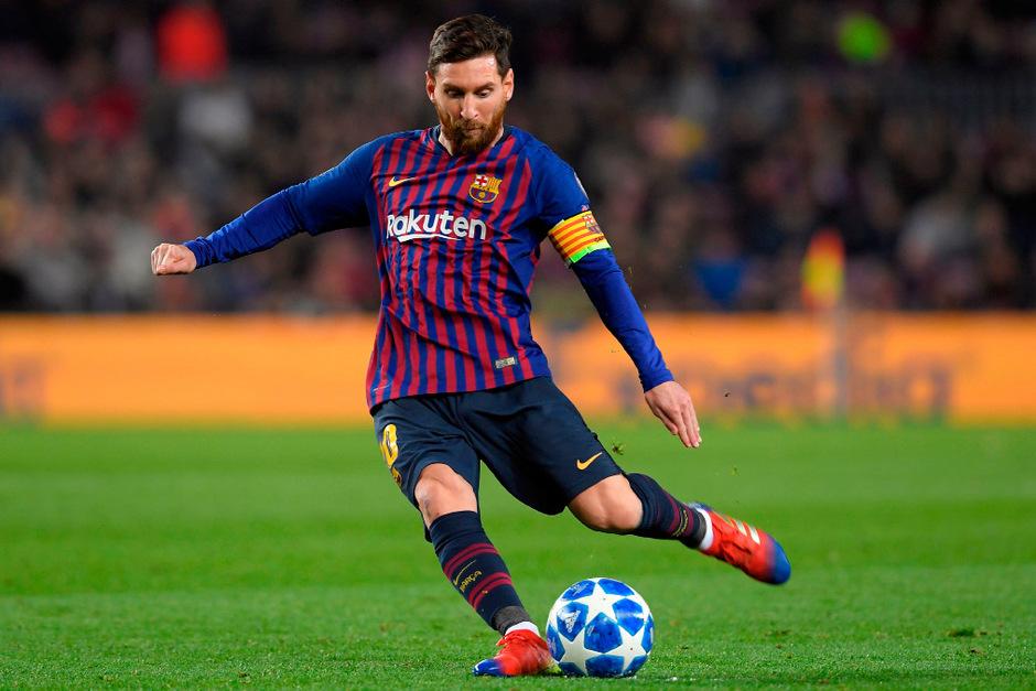 Barcelonas Lionel Messi.