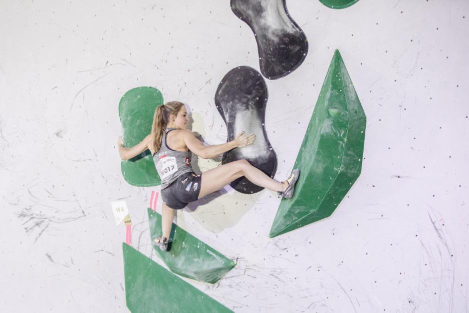 Jessica Pilz zitterte sich bei der WM zum Olympia-Ticket.
