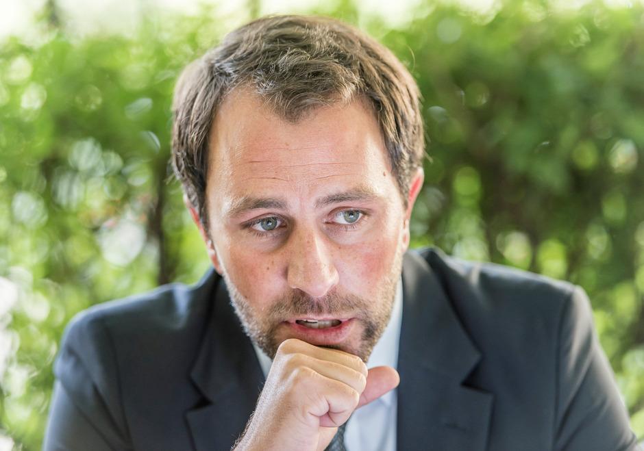 Georg Dornauer wünscht sich, dass die SPÖ nach der Nationalratswahl mit der ÖVP eine Regierung bildet.