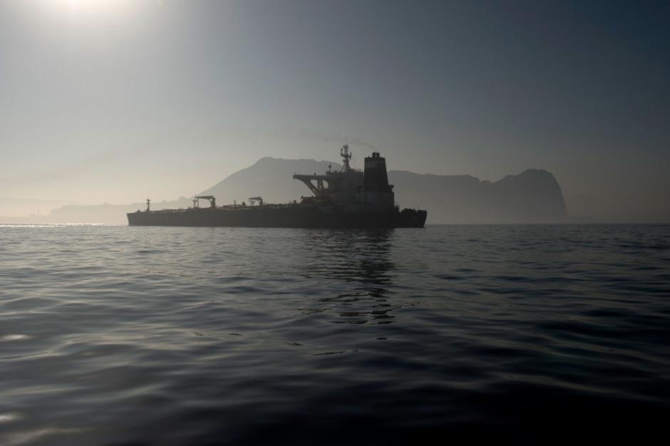 Der beschlagnahmte Supertanker fährt jetzt offenbar doch nicht nach Syrien.
