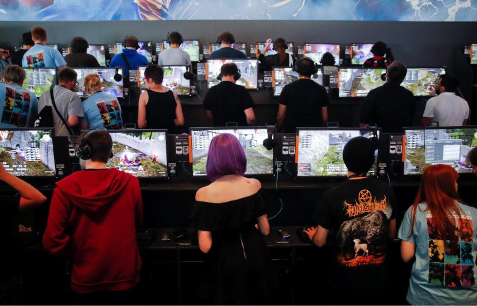 Die Gamescom ist die weltgrößte Computerspielmesse der Welt.