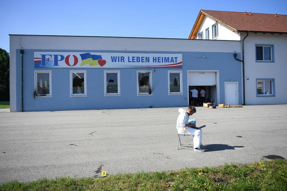 Die Landesgeschäftsstelle der FPÖ Niederösterreich in St. Pölten.