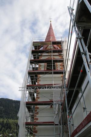 Der Turm des Antonius-Kirchleins in Ötzerau.