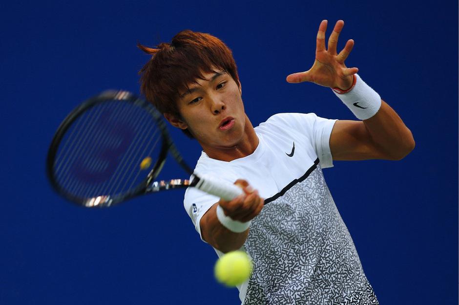 Der gehörlose Tennis-Profi Duck Hee Lee sorgt für Schlagzeilen.
