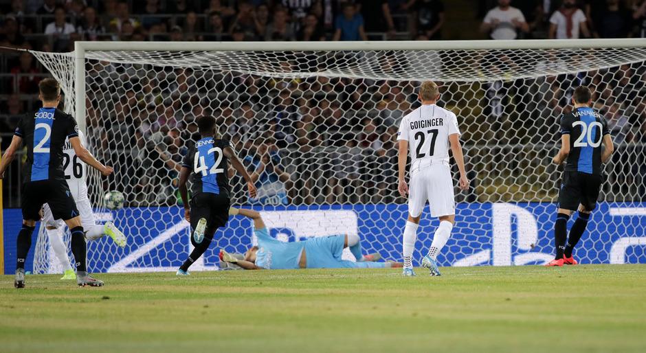 Per umstrittenem Elfmeter erzielte Hans Vanaken den entscheidenden Treffer für die Gäste.