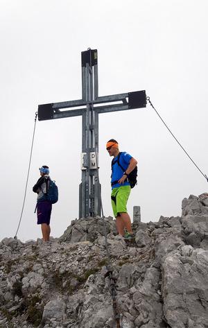 Geschafft! Der Gipfelsieg auf 2559 Metern
