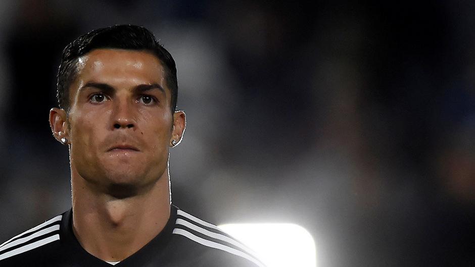 Fußballstar Cristiano Ronaldo.