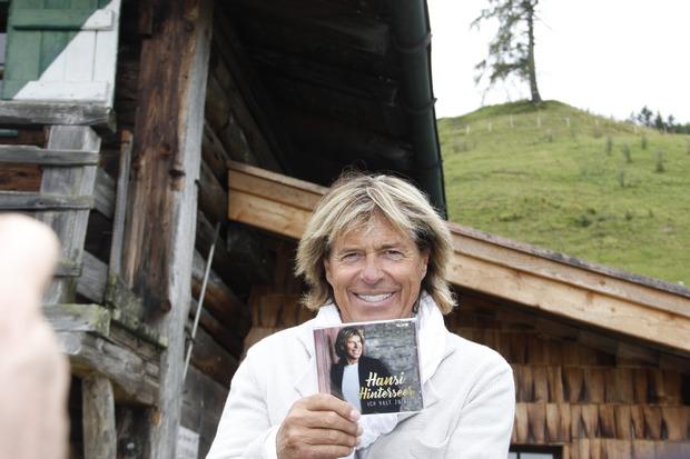 Der gebürtige Kitzbüheler brachte am Mittwoch seine neue CD heraus.