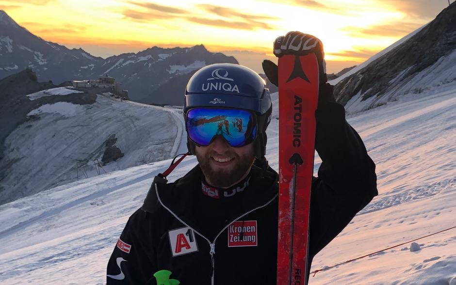 Marco Schwarz zog in der Schweiz die ersten Schwünge nach seiner schweren Verletzung.