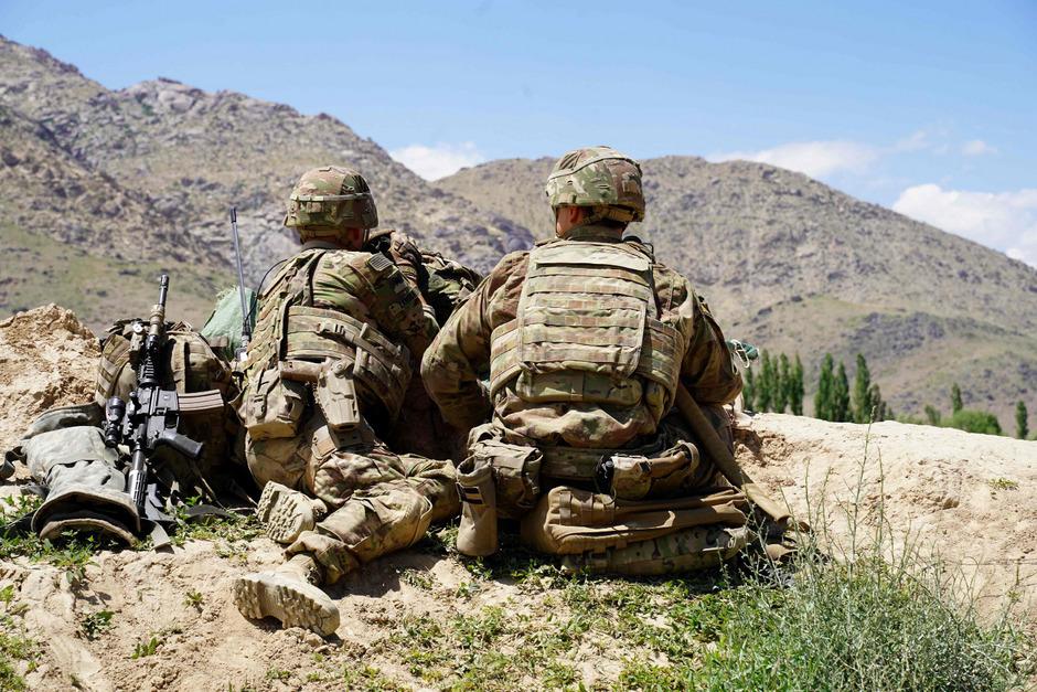 Zwei US-Soldaten in Afghanistan.