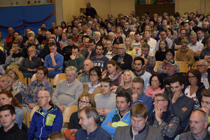 Am  TT-Forum Mitte Mai beteiligten sich 400 Zuhörer.