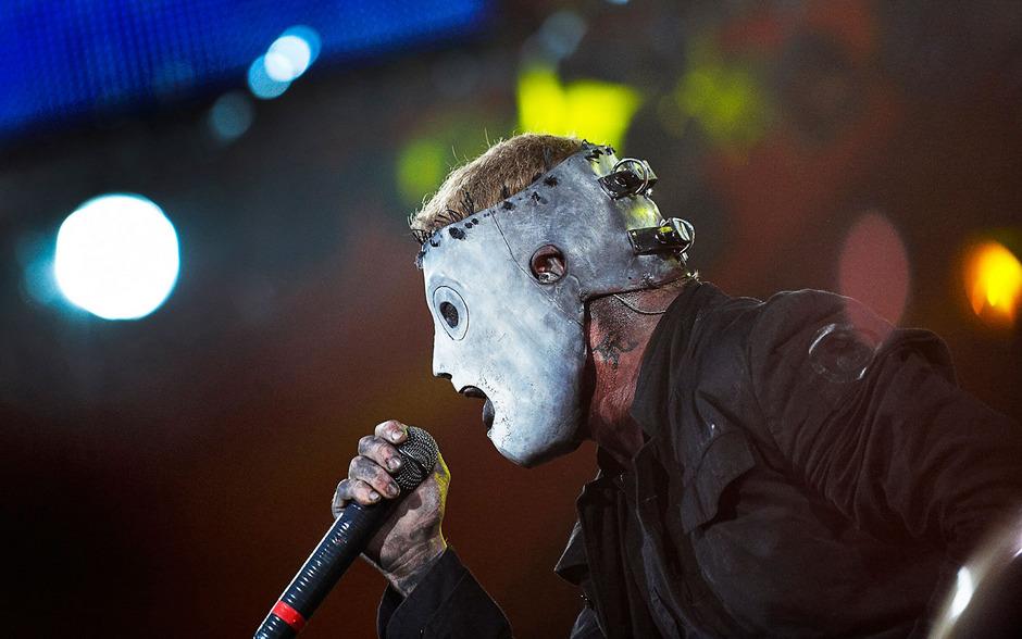 Slipknot-Sänger Corey Taylor auf einem Archivfoto.