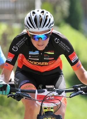 MTB-Siegerin Daniela Traxl-Pintarelli.