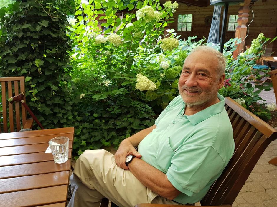 Wirtschaftsnobelpreisträger Joseph Stiglitz in Alpbach.