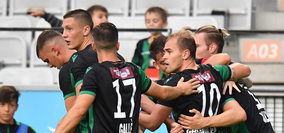 "Die Wacker-""Buam"" feierten im Tivolistadion gegen Amstetten den dritten Heimsieg in Folge."