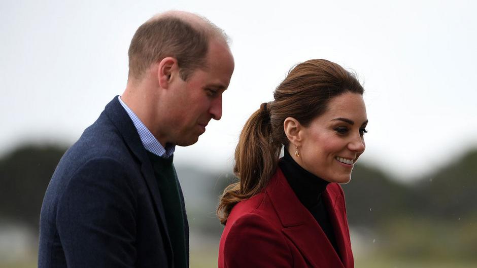 Prinz William und Herzogin Kate.
