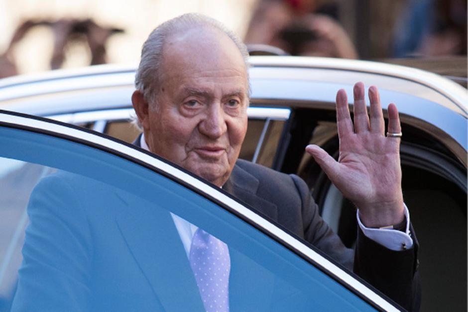 König Juan Carlos.