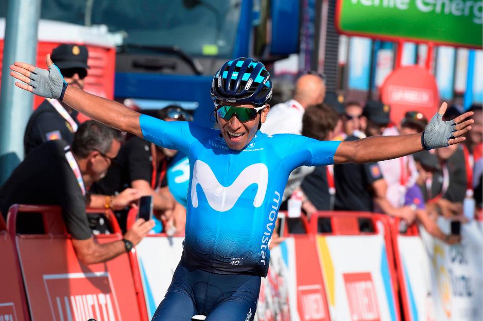 Siegte im Alleingang: Nairo Quintana.