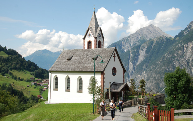 """Die Kirche """"Mariä Reinigung"""" wurde 1669 erstmals erwähnt."""