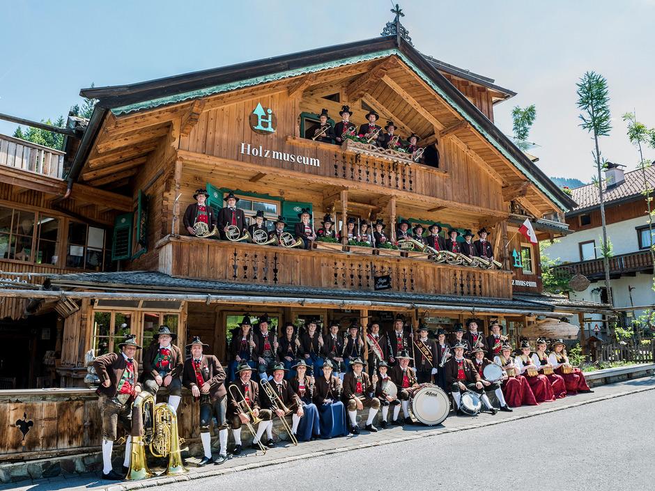 Die Bundesmusikkapelle freut sich auf das Münchner Oktoberfest und den großen Festumzug, bei dem sie mitmarschieren darf.
