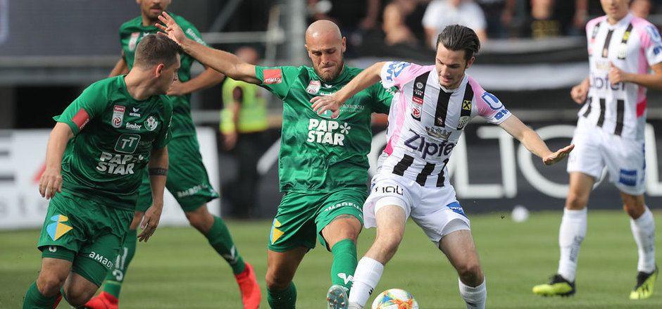 Lukas Grgic geht auch gegen Salzburg nicht für die WSG in die Zweikämpfe.