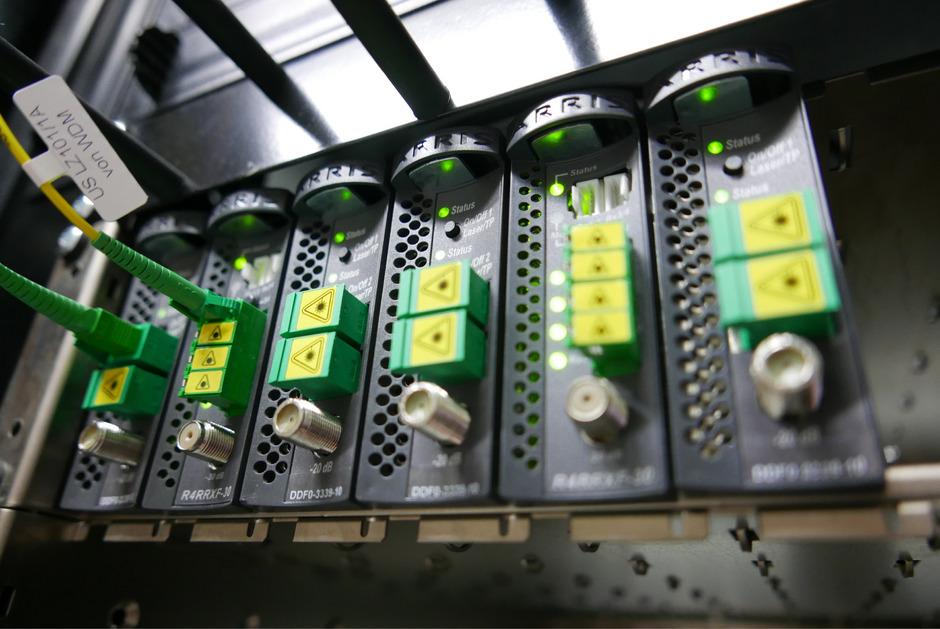 Alle 15 Gemeinden des Planungsverbandes 36 bauen am Regionet über Lichtfaserkabel.