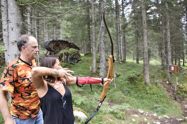 Natürlich brauchen Anfänger eine Einführung in die Kunst des Bogenschießens.