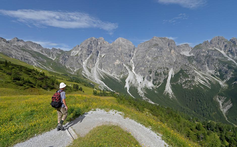 Die Tirol Werbung setzt mit ihrem 4,5 Mio. Euro großen Werbebudget auf die Schwerpunkte Wandern, Rad und Klettern.