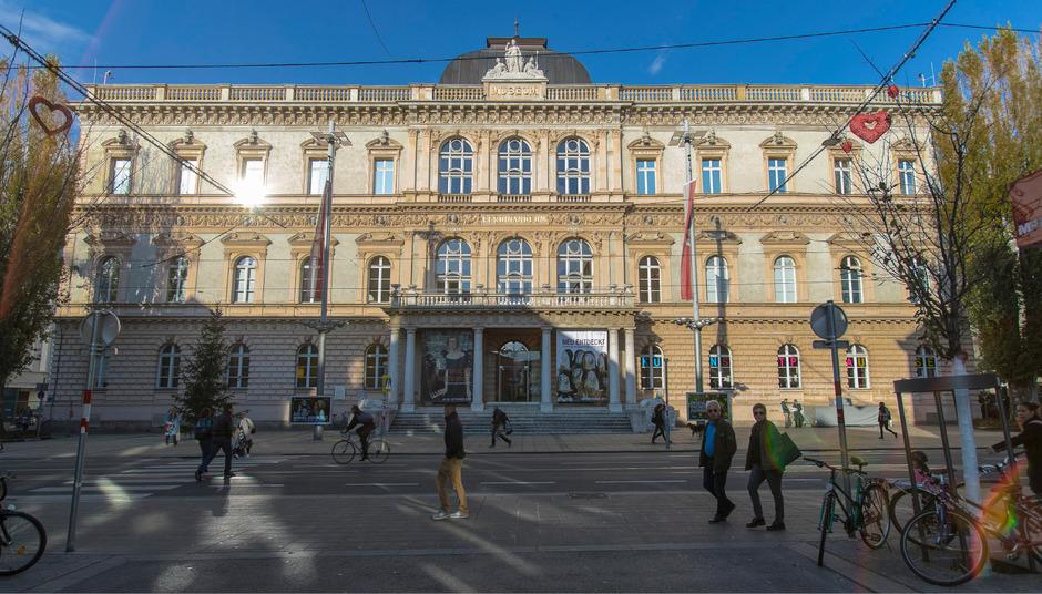 Das Ferdinandeum wird zum 200. Geburtstag im Jahr 2023 im großen Stil umgebaut. Neue Räumlichkeiten als Ort der Begegnung sind vorgesehen.