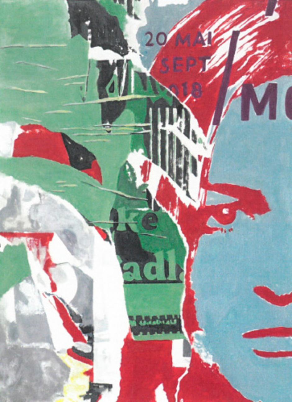 Keine Collage, sondern von Heidrun Widmoser in Tempera gemalt.