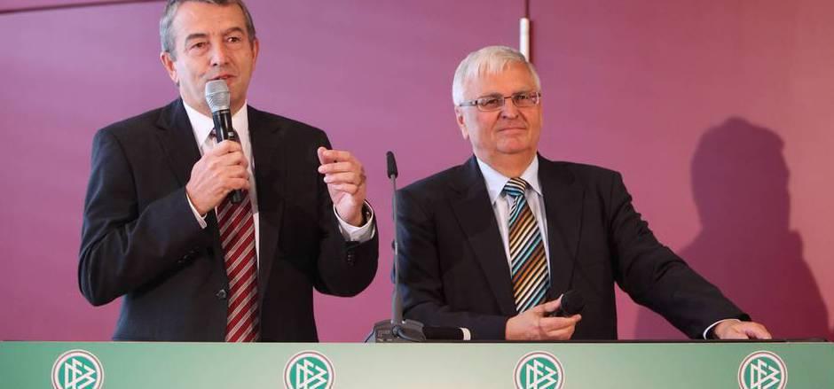 Wolfgang Niersbach und Theo Zwanziger müssen sich vor Gericht verantworten.