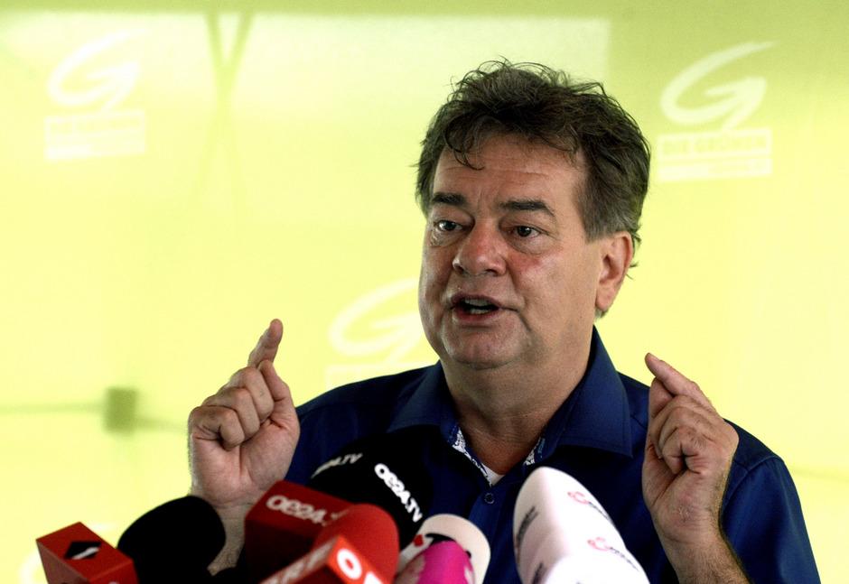 Spitzenkandidat Werner Kogler.