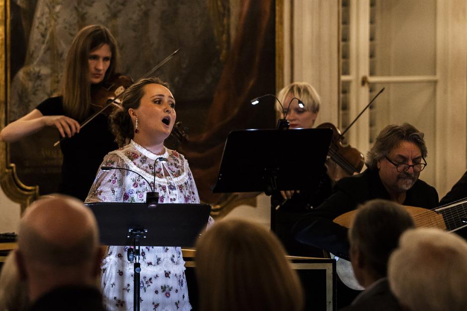 Superstar Julia Lezhneva im Festwochen-Konzert in der Hofburg mit Arien von Graun, Vivaldi und Händel.