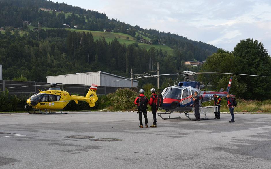 Im Sucheinsatz standen Bergrettung und Polizei.