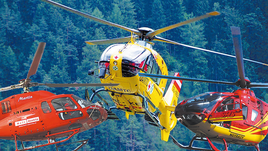 Weil die 2015 getroffene Vereinbarung nicht hält und zu viele Rettungshubschrauber in Tirol in der Luft rotieren, kam es zu einem Heli-Gipfel im Landhaus.