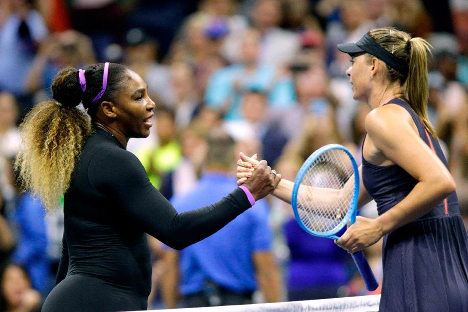 6:1,6:1 - Serena Williams ließ Maria Scharapowa nicht den Funken einer Chance.