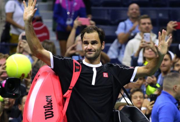 Nach Startschwierigkeiten eine Runde weiter: Roger Federer.