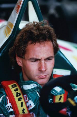 Mit 27 Jahren ging – in seinem Benetton-Jahr (1986) – sein PS-Stern auf.